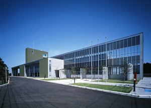 つくばふれあいプラザ 設計:河野正博建築設計事務所